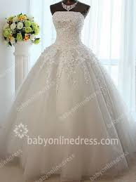 wedding gowns 2015 strapless wedding dresses 2018 sequins beading appliques