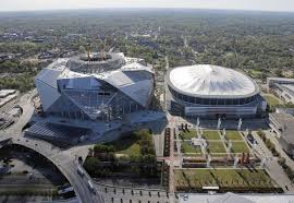 dome demolition could be delayed update on falcons stadium