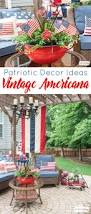 vintage americana decor for july 4th