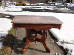 antique marble top pedestal table antique marble top table ebay