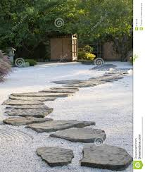 japanese rock garden stock image image of garden asian 6766753