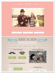 free wedding websites with build your wedding website with wix artfully wed wedding