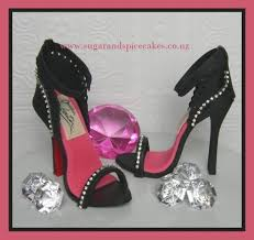 high heel cake topper bling stiletto cake toppers cake by mel sugarandspicecakes