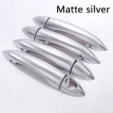 Chrome Exterior Door Handles For Alfa Romeo Giulia 4 Door 2017 Abs Chrome Exterior Door Handle