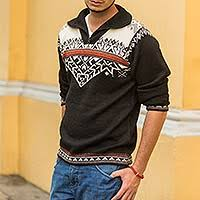mens sweaters handcrafted men u0027s sweaters at novica