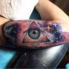 75 space inspired tattoos for who are fascina