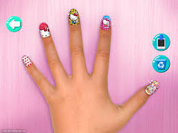hello kitty nail salon android apps on google play