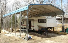 Rv Awning Protective Cover Buy Rv Metal Carports To Protect Your Mobile Home Great Prices