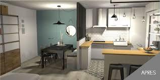 cuisine sejour architecture décoration d intérieur d un séjour cuisine à