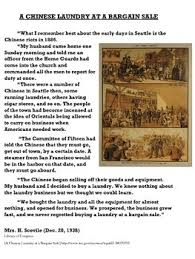chinese american immigration worksheet u201ca chinese laundry at a