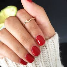 best 25 short red nails ideas only on pinterest short acrylics