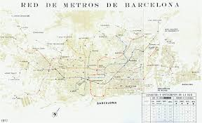 Barcelona Subway Map by Barcelona Metro Projects