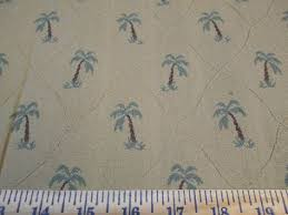 Palm Tree Upholstery Fabric 3 7 8 Yds Embroidery Palm Tree Upholstery Fabric Home Decor