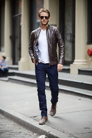 cabinet amusing leather look mens jackets 27 brown jacket with white t shirt and blue jeans