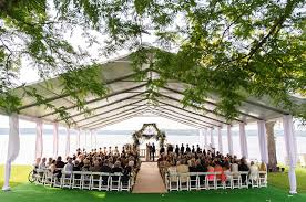lake geneva wedding venues tented outdoor wedding by bliss weddings events strictly weddings