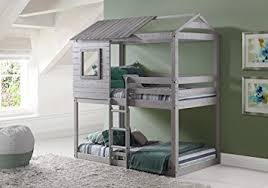 House Bunk Beds Play House Bunk Beds Free Storage Pockets Kitchen