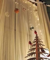 Window Decorations For Christmas by House Ideas Architecture Natural Jaya Canvas Curtain With Clear
