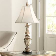 Candlestick Lamp by Gold Wash Candlestick Table Lamp T8532 Lamps Plus