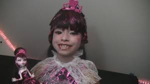 Clawdeen Monster High Halloween Costume by Monster High Costume Draculaura 1600 Youtube