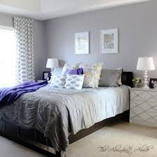 Interior Paint Colors by Bedroom Dark Grey Plaid Bed Valance And Pattern Black And White