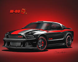 Mustang 2013 Black 2013 2014 Ford Mustang Fine Art Prints U0026 Posters By Danny Whitfield