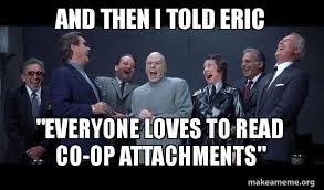 And Then I Said Meme - and then i told eric everyone loves to read co op attachments dr