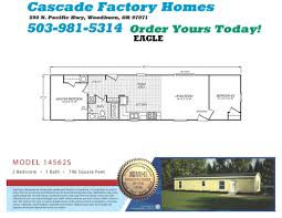 2 bedroom 1 bath single wide mobile home floor plans