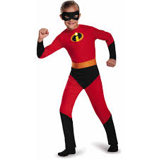 The Incredibles Family Halloween Costumes by The Incredibles Dash Classic Child Halloween Dress Up Role Play