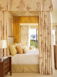 Four Poster Bed Curtains Drapes Bedroom Extraordinary Canopy Bed Drapes For Cozy Bedding Design