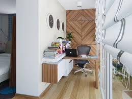 White Wood Desk Black Office Swivel Chair With Wood Desk And White Wood Floating