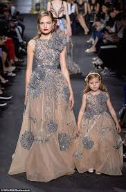of the gowns elie saab shows matching gowns for haute