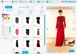 design online clothes virtual fitting rooms allow online shoppers to try before they buy