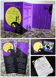 nightmare before themed wedding if you me you
