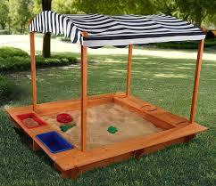 amazon com activity sandbox with canopy toys u0026 games