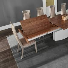 White Gloss Extendable Dining Table Imperador Plus Dining Table High Gloss Dining Room Furniture