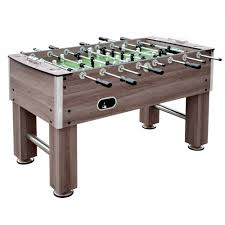hathaway primo foosball table hathaway driftwood 56 in foosball table bg1135f the home depot