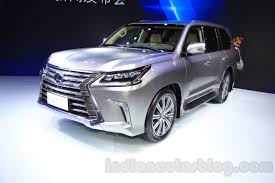 lexus lx 450 hp lexus lx 450d to start at inr 2 3 crore in india report
