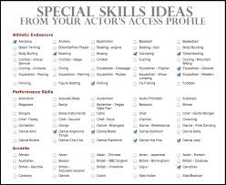 Skills For Resumes Skill For Resume 19 Samples 2 Marvellous Outline A Examples Of