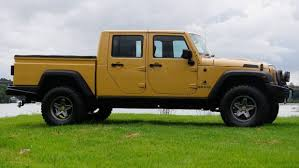 jeep brute single cab who needs a ranger or hilux when you can drive a jeep wrangler brute