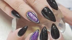 acrylic nails geode gel polish nail design youtube