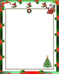 printable santa claus letter template best template collection