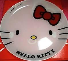 40th anniversary plates hello 40th anniversary lawson sanrio party glass plate