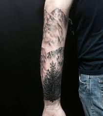 67 mountain tattoos on sleeve