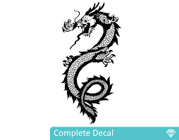 chinese dragon your decal shop nz designer wall art decals chinese dragon