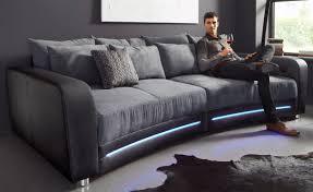 sofa mit beleuchtung jetzt 50 reduziert big sofa inklusive rgb led beleuchtung