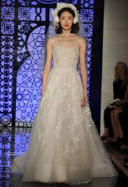 reem acra u0027s fall 2016 wedding dress collection is all about the