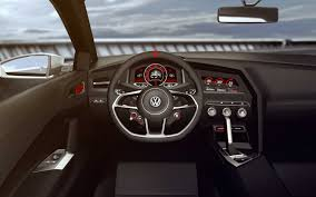 volkswagen gti interior volkswagen gti design vision has 503 hp 0 62 mph in 3 9 seconds