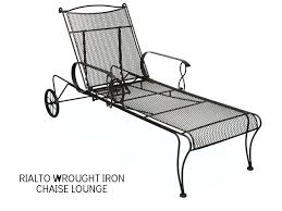 Wrought Iron Chaise Lounge Chaise Lounge Wrought Iron Chaise Wrought Iron Chaise Lounge With