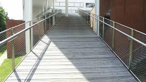 Steel Banister Rails Stainless Steel Railing Wire Mesh Indoor Outdoor Webnet N1