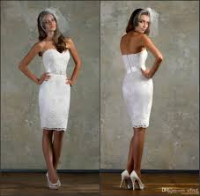 lace white little cocktail party dresses bridal gown
